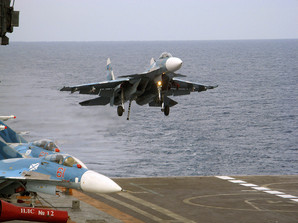 Carrier-based air defence fighter Su-33