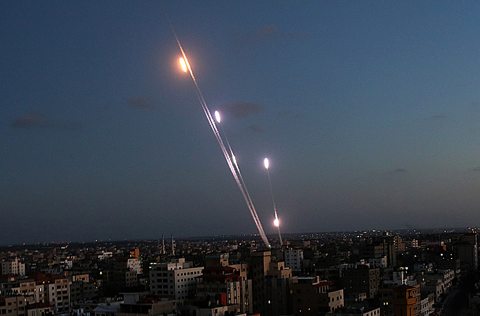 The immediate reason for the operation was that cities in southern Israel were massively shelled by Hamas military wing