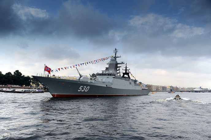 The Steregushchy (Project 20380) is the newest class of corvette in the Russian Navy