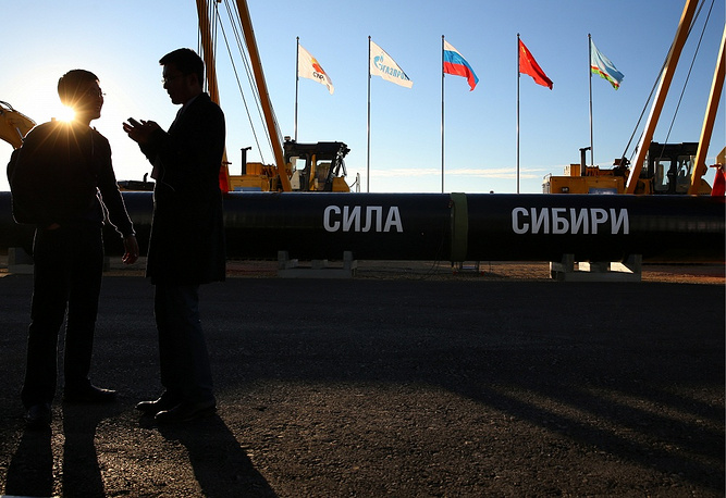 "The so-called ""eastern route"" includes natural gas supplies via the Power of Siberia gas pipeline. Pipeline Power of Siberia is a system of main gaslines from Yakutia and Irkutsk Region to Vladivosotk.