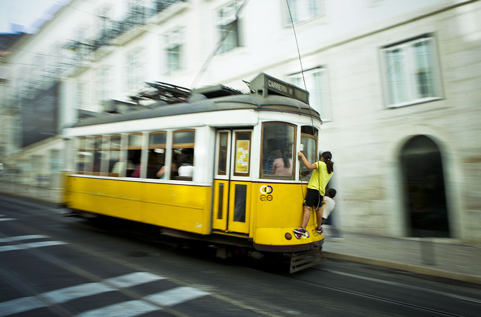 Lisbon tramway network serves the Portuguese capital since 1873