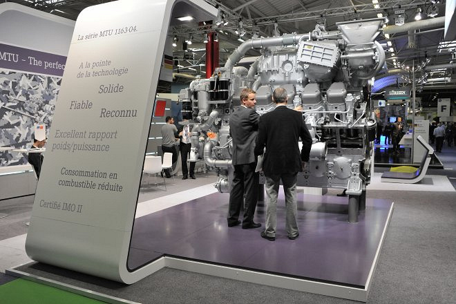 MTU Friedrichshafen company, one of the leading manufacturers of diesel engines to be used in shipbuilding, rail transport, construction and industrial machinery
