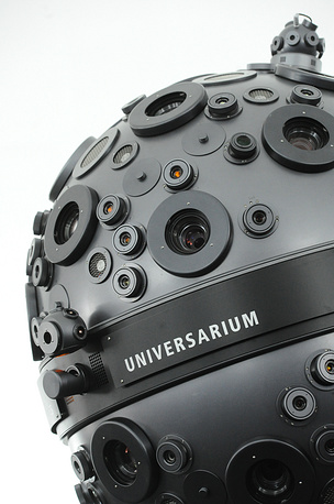 Photo: A Zeiss Universarium М9 star projector in Moscow Planetarium