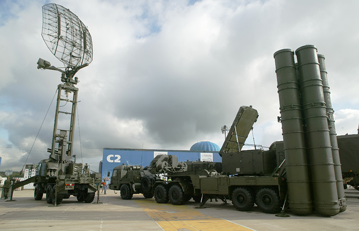 S-400 antiaircraft missile system