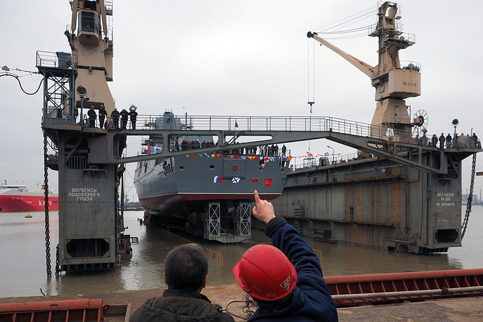 Construction of Project 22350 frigates started in 2006, when lead ship of the project Admiral Gorshkov was laid down