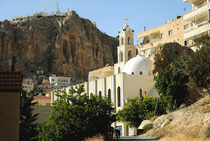 Church in the Maaloula village