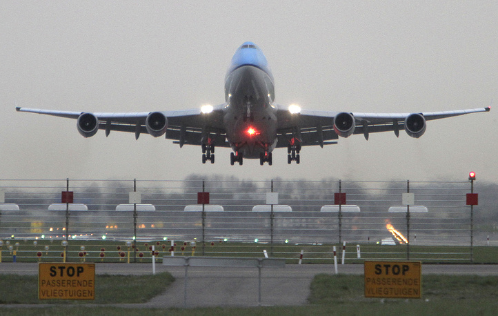 KLM, or Royal Dutch Airlines is ranked fifth.  It is the oldest airline in the world still operating under its original name. Photo: KLM passenger planes takes off from Schiphol airport in Amsterdam