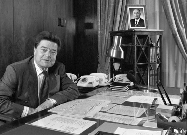Boris Pankin served as Foreign Minister before the Soviet Union's collapse in 1991 only for few months. He managed to establish diplomatic relations with the State of Israel and to begin the Soviet-US disarmament process
