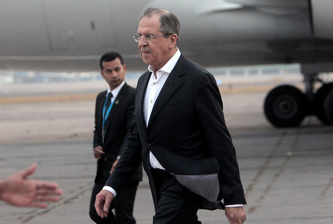 The last visit to Guatemala took place in 2010. Photo: Sergey Lavrov at La Aurora International Airport in Guatemala City, Guatemala