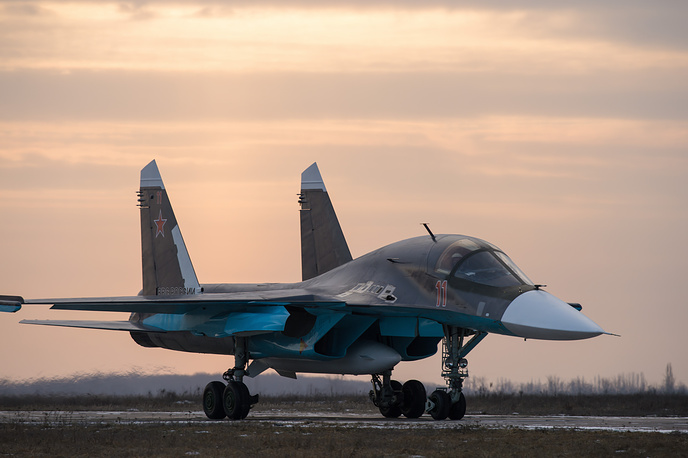 By 2020, Su-34s will replace all the Su-24 bombers
