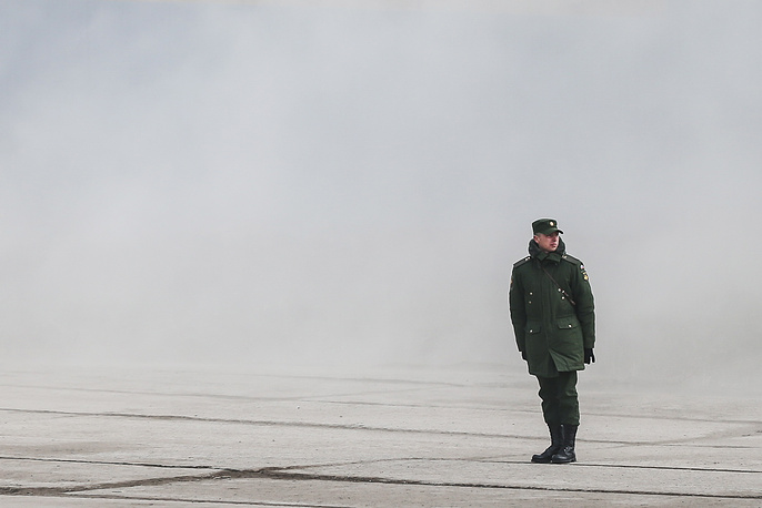 Rehersal of the Victory Day military parade