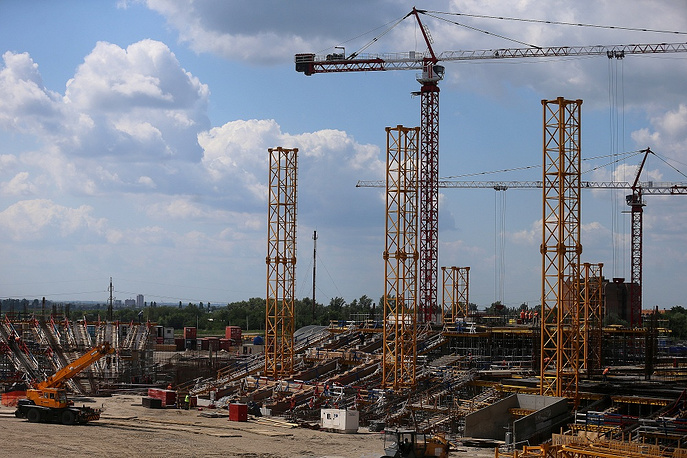 Rostov-on-Don stadium capacity is expected to be 45 thousand spectators