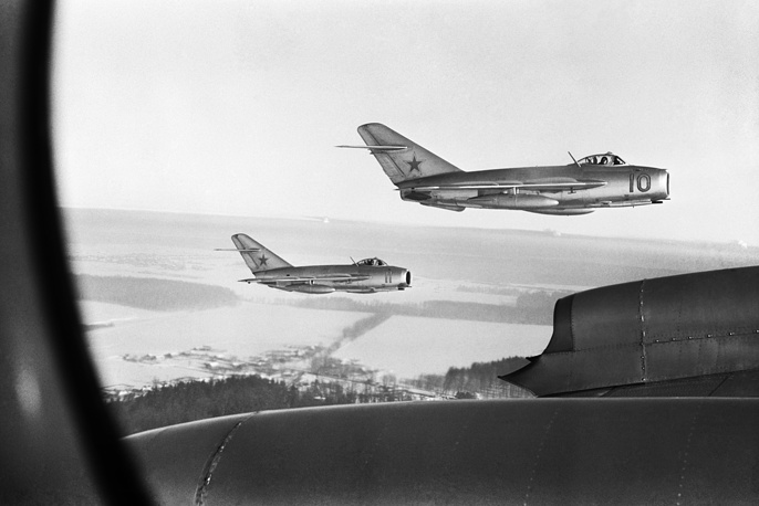 MiG-15 is believed to have been one of the most widely produced jet aircraft ever made. Licensed foreign production may have raised the production total to over 18,000