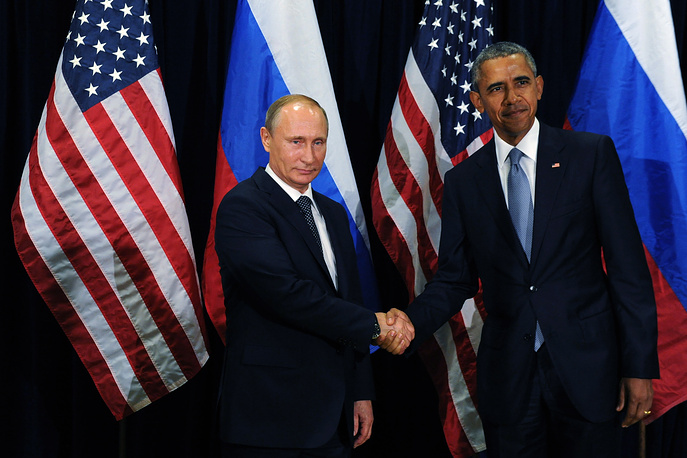 Russia's President Vladimir Putin and US President Barack Obama met on the sidelines of the 70th session of the United Nations General Assembly