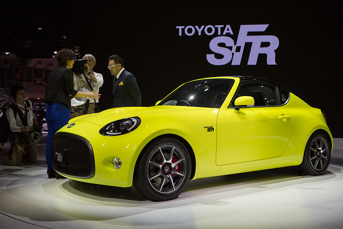 Toyota S-FR coupe