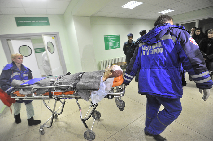 A person injured in the 29 December Volgograd railway station bombing
