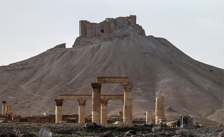 A view of the ancient fortress of Emir Fakhr-al-Din