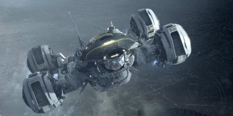 The Prometheus spaceship from 'Prometheus'