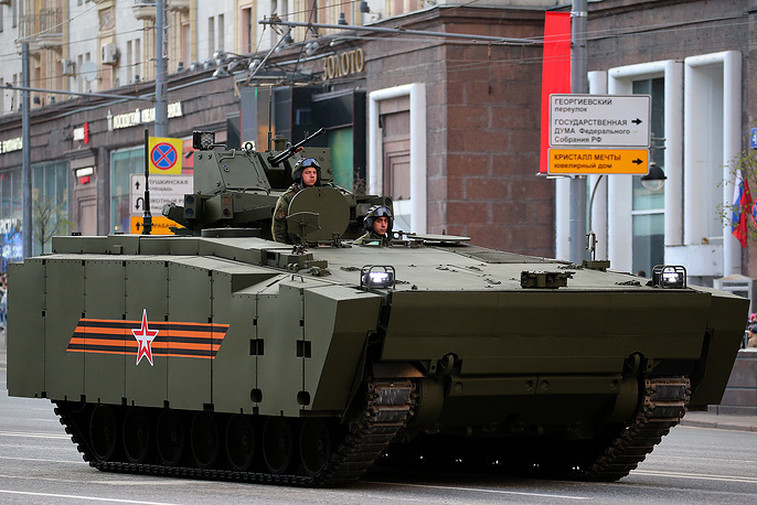Armata-based Kurganets-25 heavy assault armored vehicle