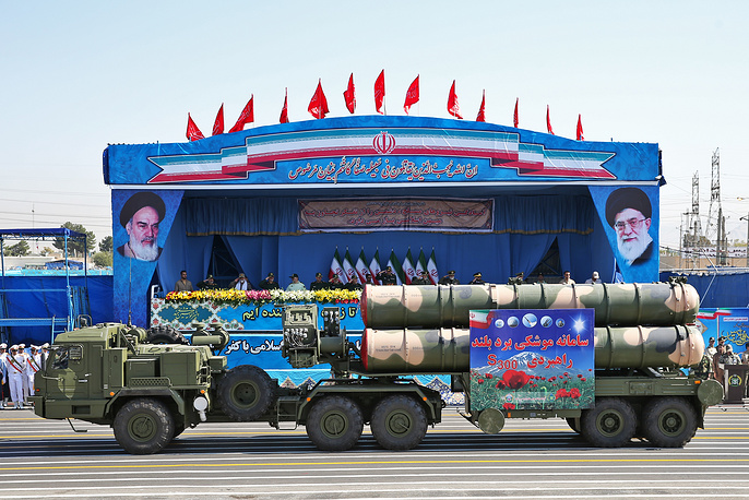 On September 21  Iran marked the anniversary of the eight-year-long war with Iraq, which began in 1980. Photo: S-300 missile system