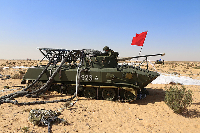 The main phase of the Russia-Egypt anti-terrorist exercise named Defenders of Friendship-2016 ended near Egypt's El-Alamein