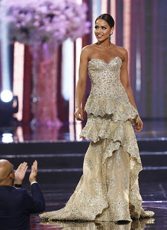 Miss Universe second runner-up Andrea Tovar from Colombia