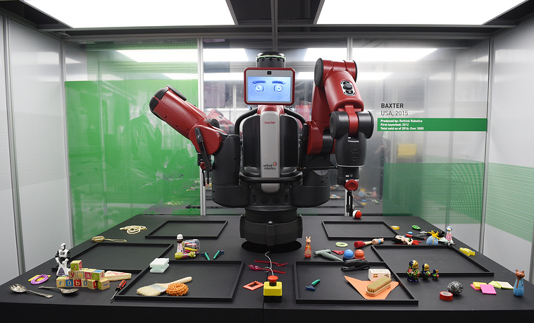 Baxter, a robot from the US