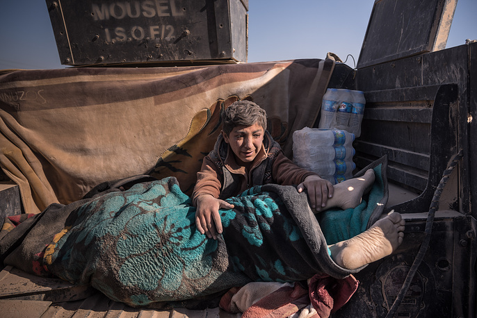 General News, Second Prize, Stories. The New York Times photographer Sergey Ponomarev. Title: Iraq's Battle To Reclaim Its Cities