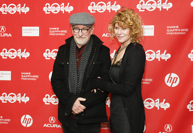 Director Steven Spielberg and actress Kate Capshaw have been married for 16 years