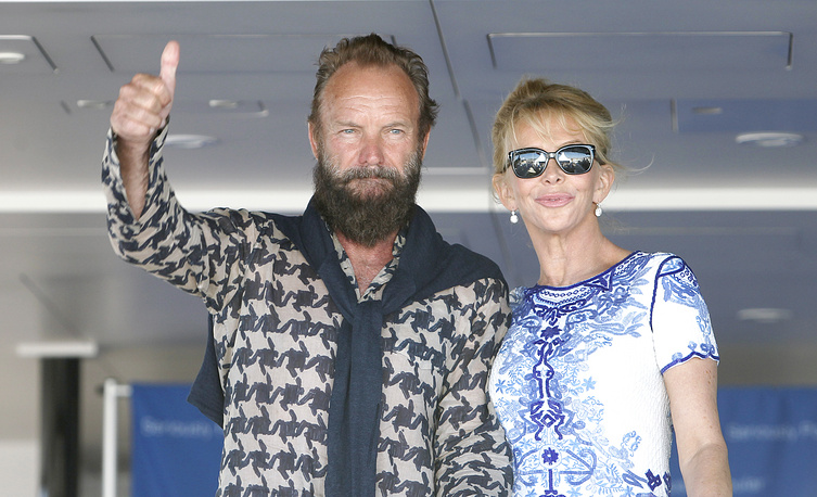 British singer Sting and his wife Trudie Styler got married in 1992, but the couple have been together for over 30 years