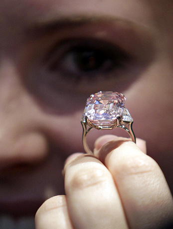 The Graff Pink, a rare 24.78 carat pink diamond, was sold for $46.16 mln by Sotheby's auctioneers in Geneva, Switzerland on November 16, 2010. The early history of the diamond is not clear. It was owned by a private collector until 2010 when it was bought by diamond dealer Laurence Graff, who named it Graff Pink