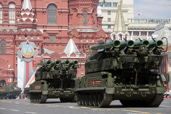 Buk-M2 surface-to-air missile systems