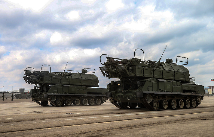 Tor-M2DT anti-aircraft missile systems