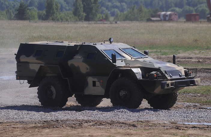 KAMAZ-43269 Vystrel, mine-resistant, ambush protected vehicle