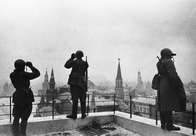 The defense of Moscow, August 1, 1941
