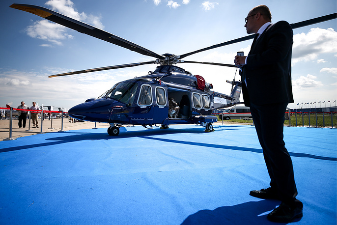 AgustaWestland AW139 twin-engine helicopter