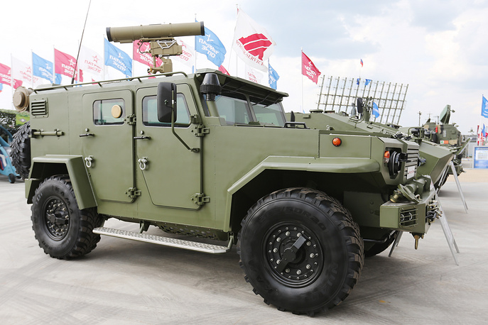 A multipurpose armored amphibious vehicle produced by Minotor-Service Enterprise