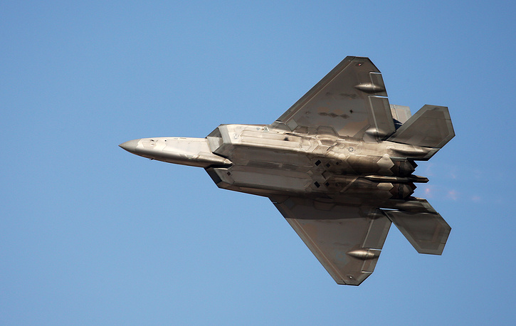 Lockheed Martin F-22 Raptor stealth fighter