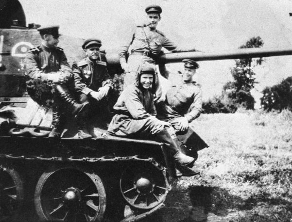 The initial T-34 version had a powerful 76.2 mm gun, and is often called the T-34/76