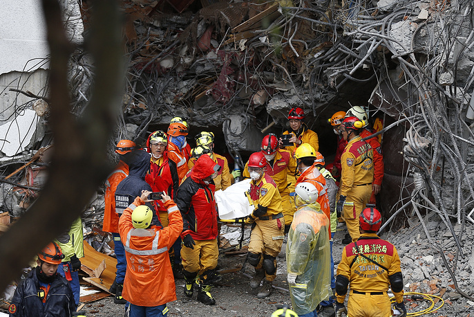 Media reports said several buildings were damaged and at least four people were killed and some 100 were injured during the quake