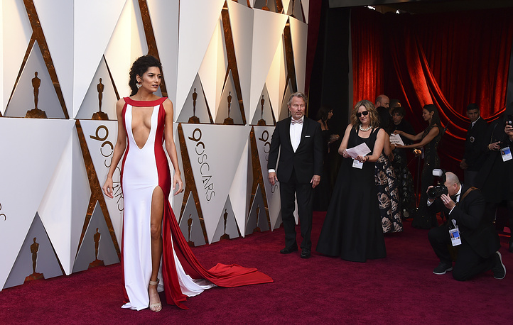 Blanca Blanco arrives at the Oscars
