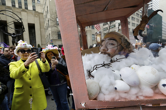 Easter celebrations along Fifth Avenue in New York