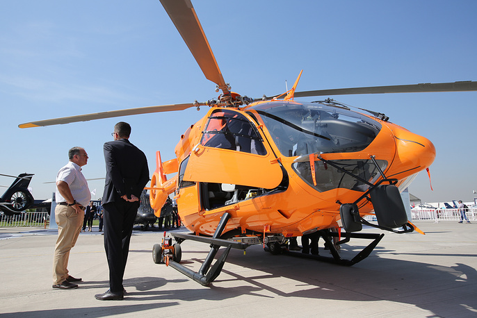 Eurocopter EC145 twin-engine light utility helicopter