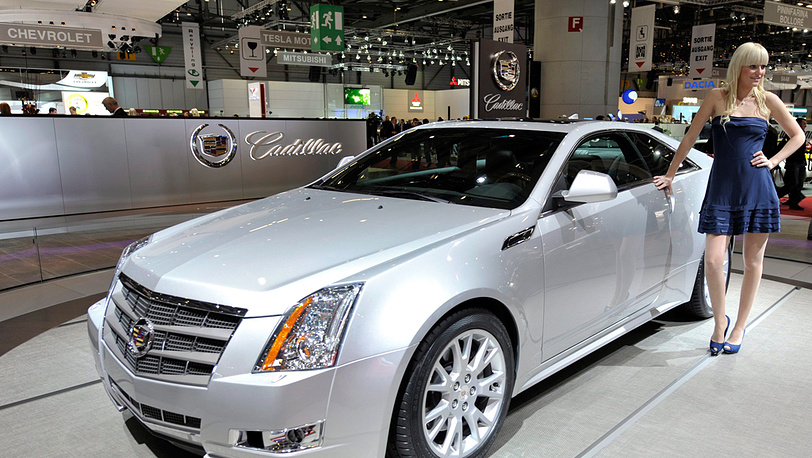 Cadillac 2011 CTS Coupe