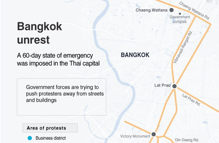 Bangkok unrest