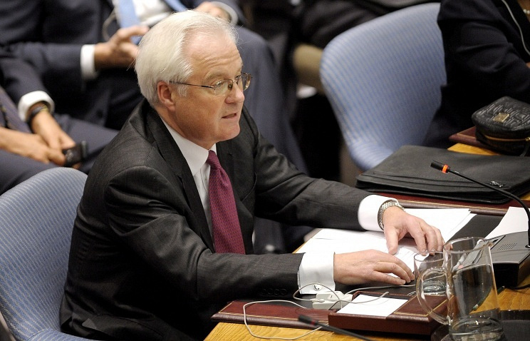 Russia's Ambassador to the UN Vitaly Churkin EPA/ITAR-TASS