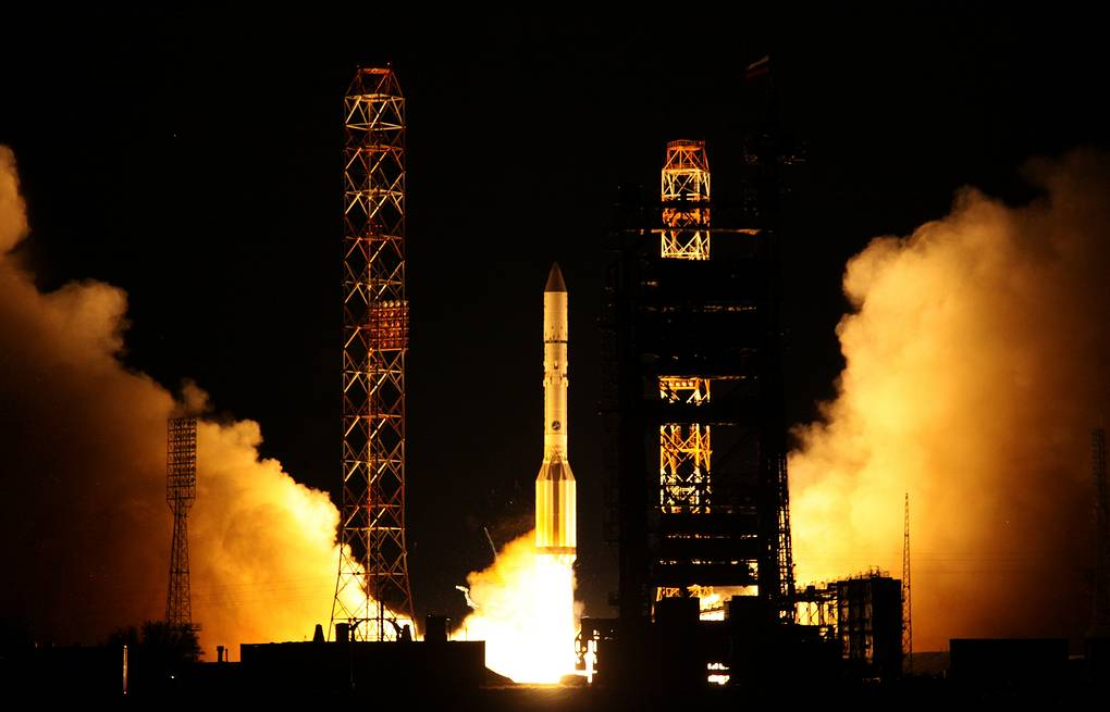 Proton-M launch at Baikonur (archive) ITAR-TASS/Oleg Urusov