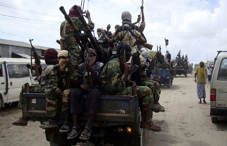 Al-Shabaab militants on Kenya (archive) AP Photo/Farah Abdi Warsameh