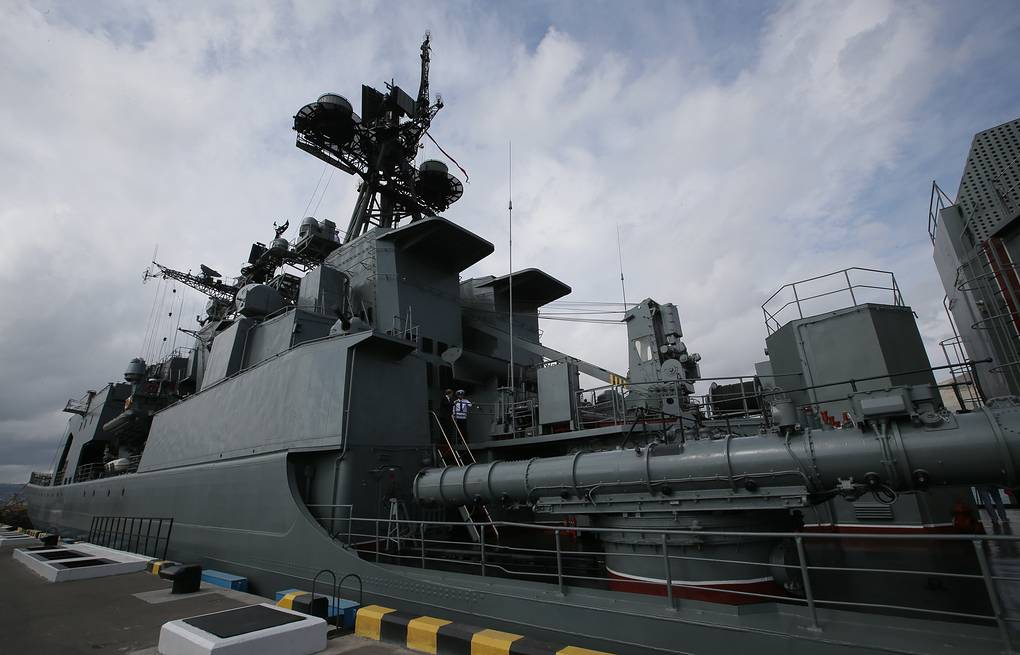 Vice-Admiral Kulakov large anti-submarine ship  Mikhail Metzel/TASS