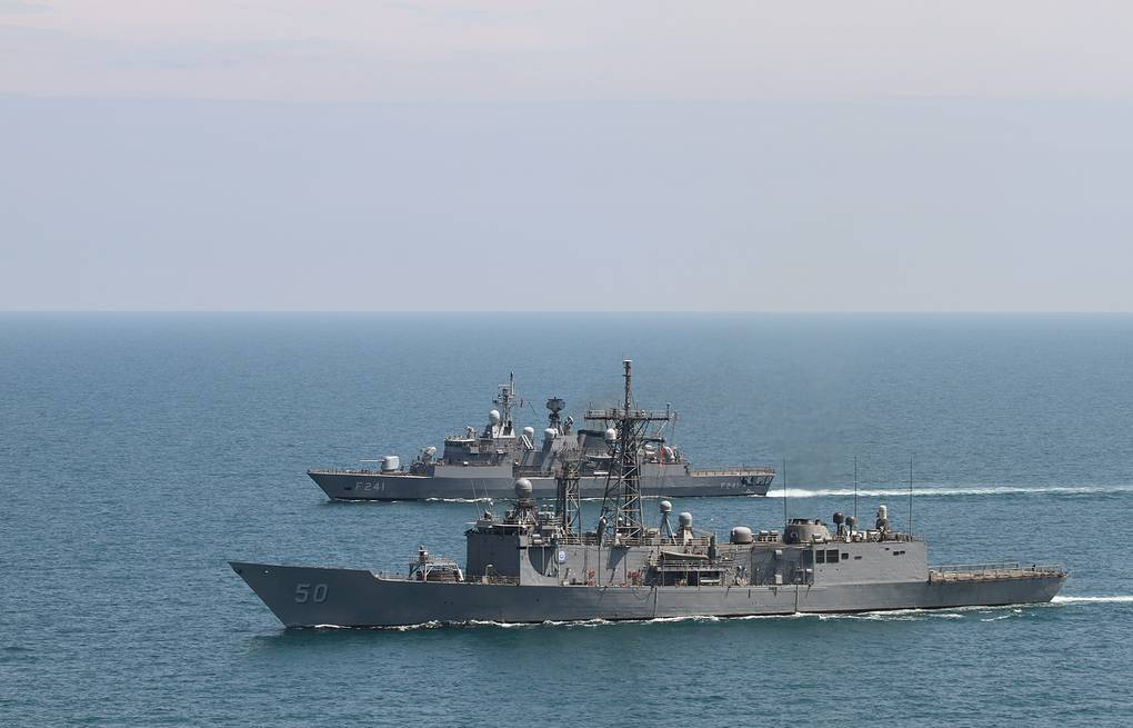 NATO warships in the Black Sea (archive) EPA/LT. J.G. DAVID HANCOCK / US NAVY / HANDOUT